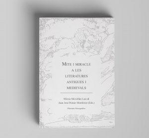 portada libro mite i miracle. colección monografías.