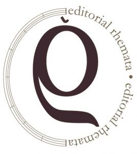 logotipo editorial rhemata