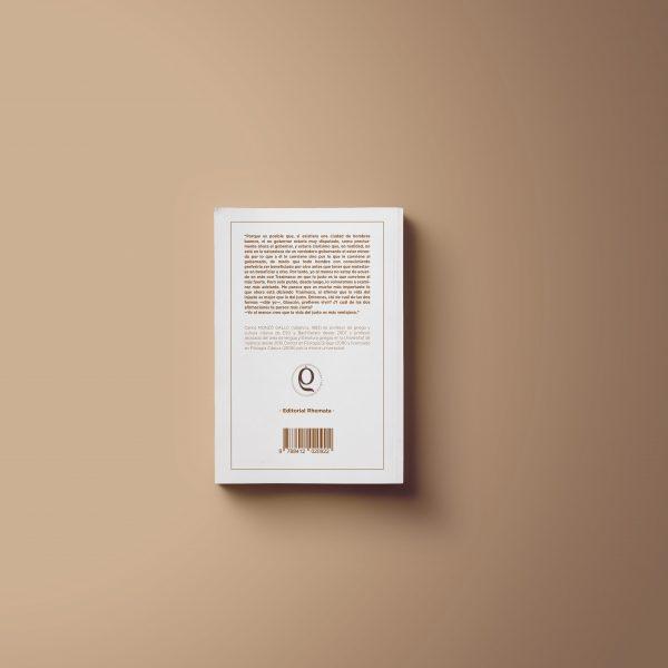 Contraportada del libro La República de Platón traducido por Carlos Monzó Gallo